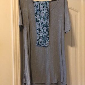 Lularoe top with matching leggings